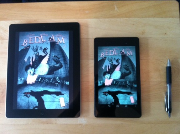 Are Tablets any Good for Reading Comics?