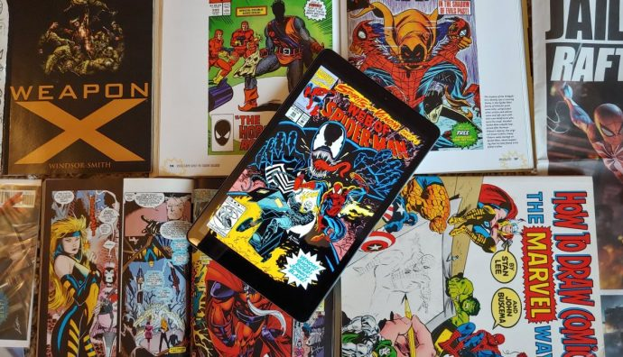 Considering Mini Tablets for Reading Comic Books