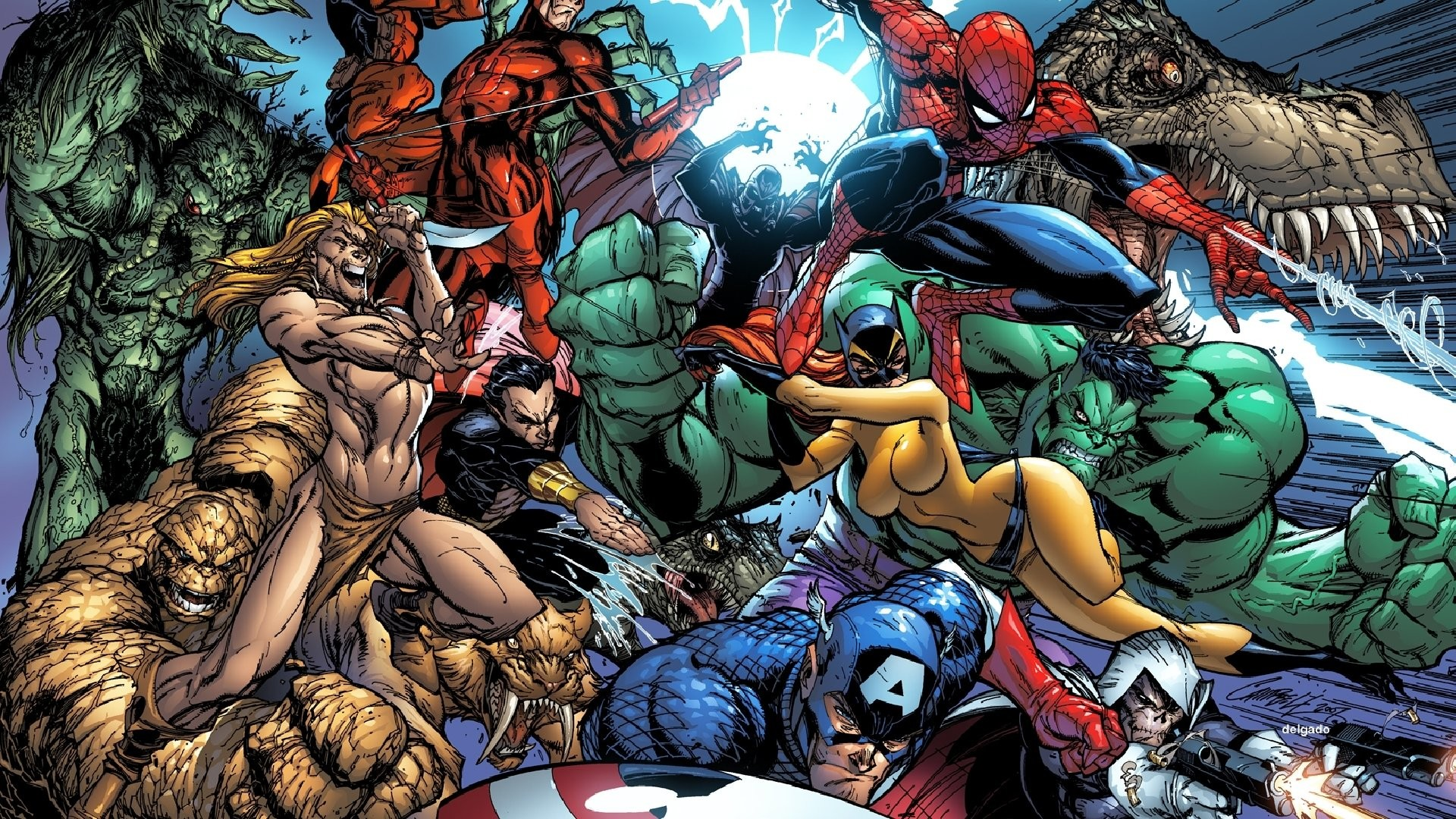 Marvel comic history in the USA