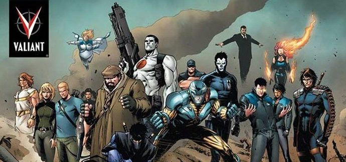 History of Valiant Comic