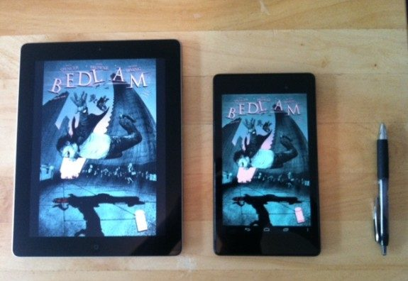 Are Tablets any Good for Reading Comics